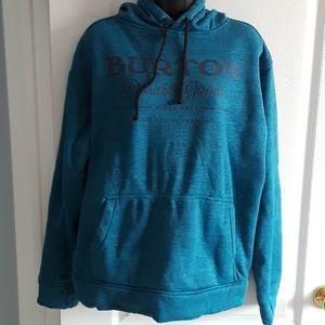 Burton fleece lined hoodie